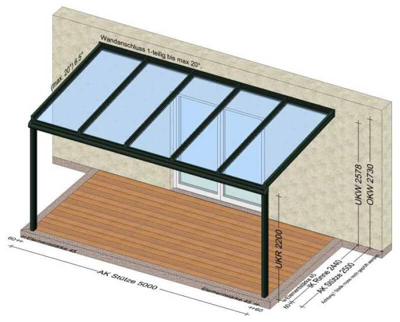 Überdachung Terrasse Oberösterreich