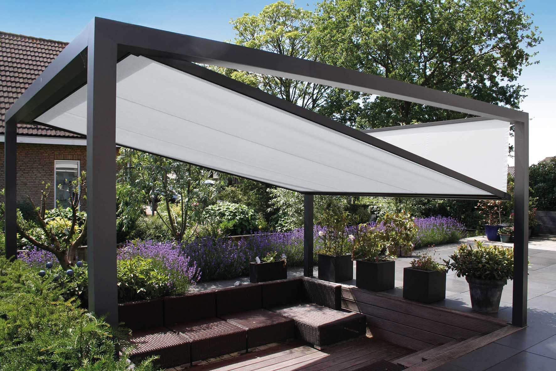Überdachung ZIP Sonnenschutzanlage