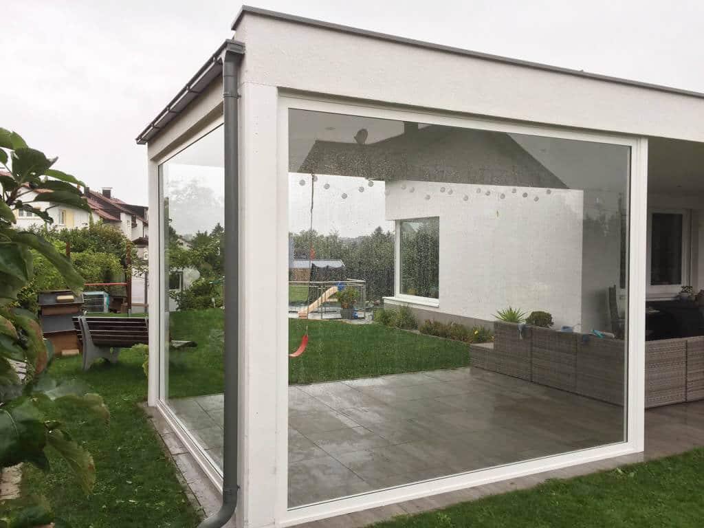 Fabelhaft Verglasung auf Terrasse Fix oder zum Schieben von Schmidinger #TT_58