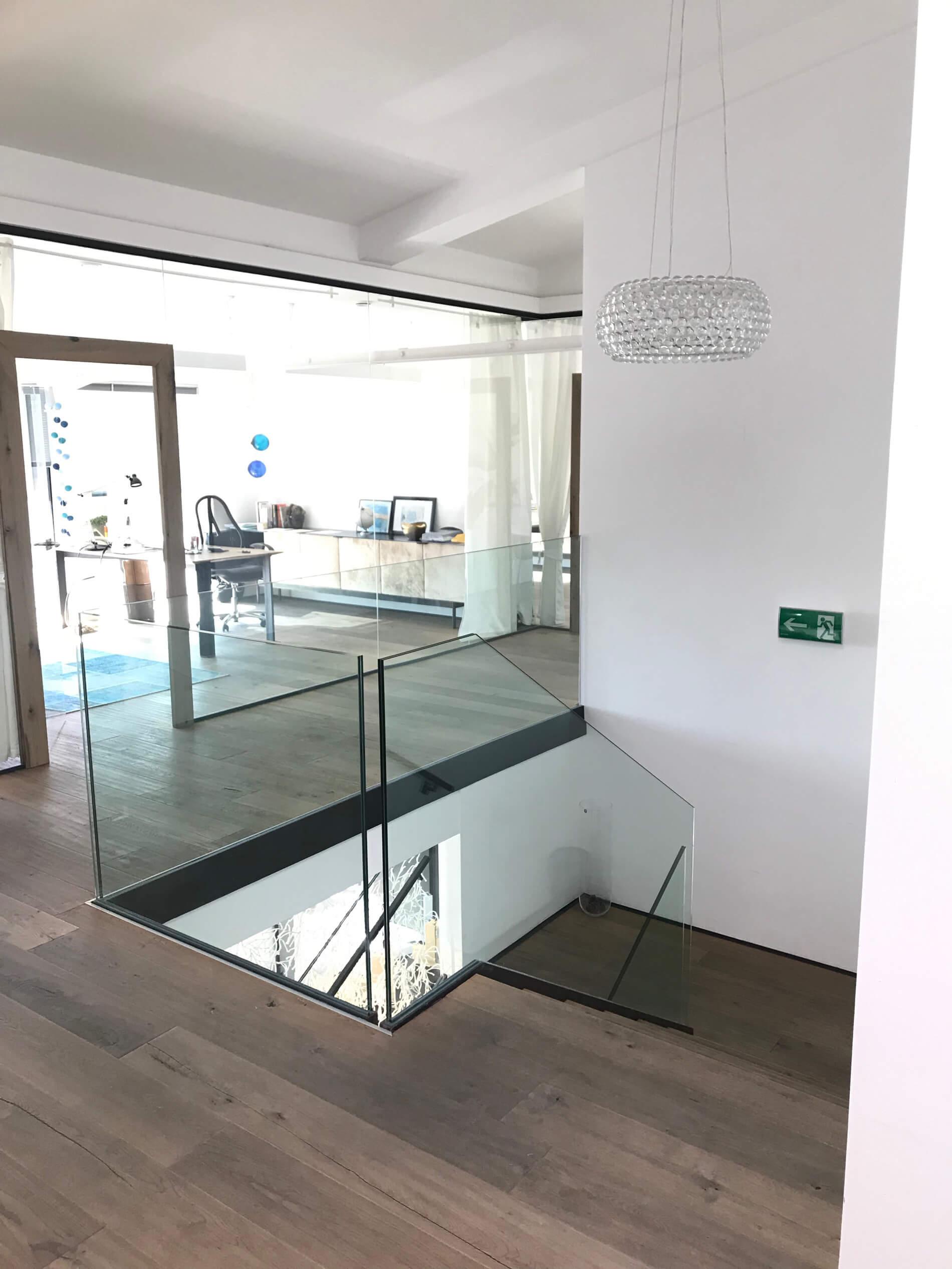 Verglasungen Innenraum