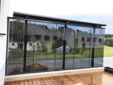 Verglasungen Windschutz Terrasse