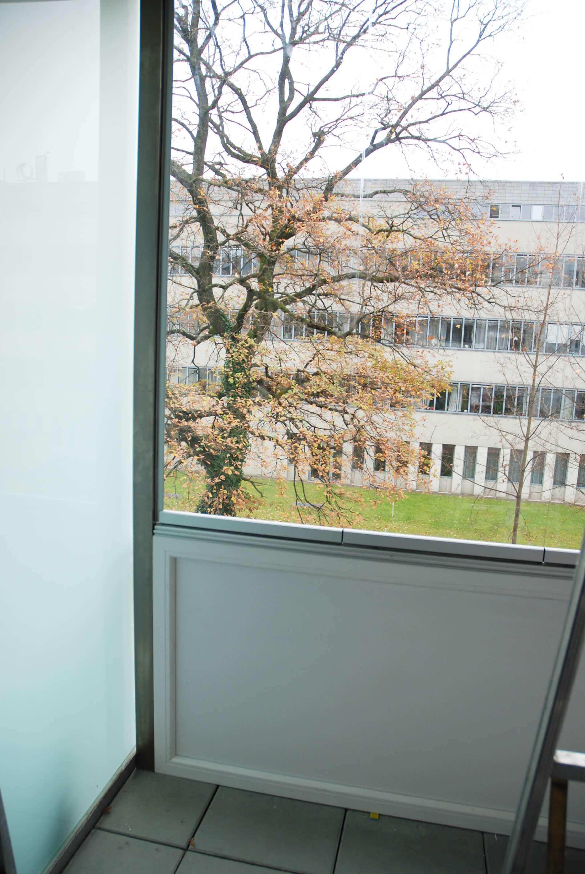 Wind und Regenschutz für Balkon