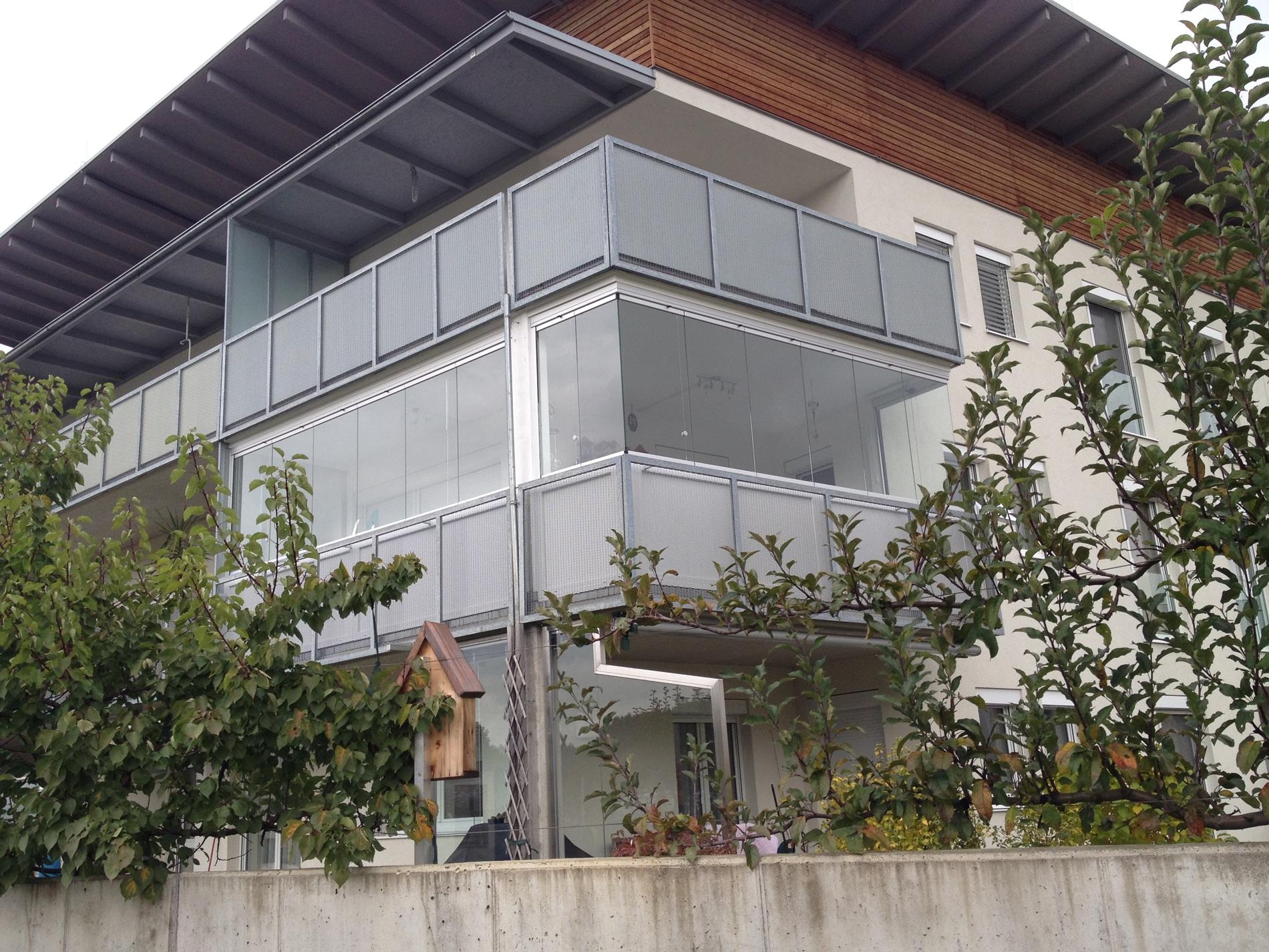 Windschutz Balkon Sunflex