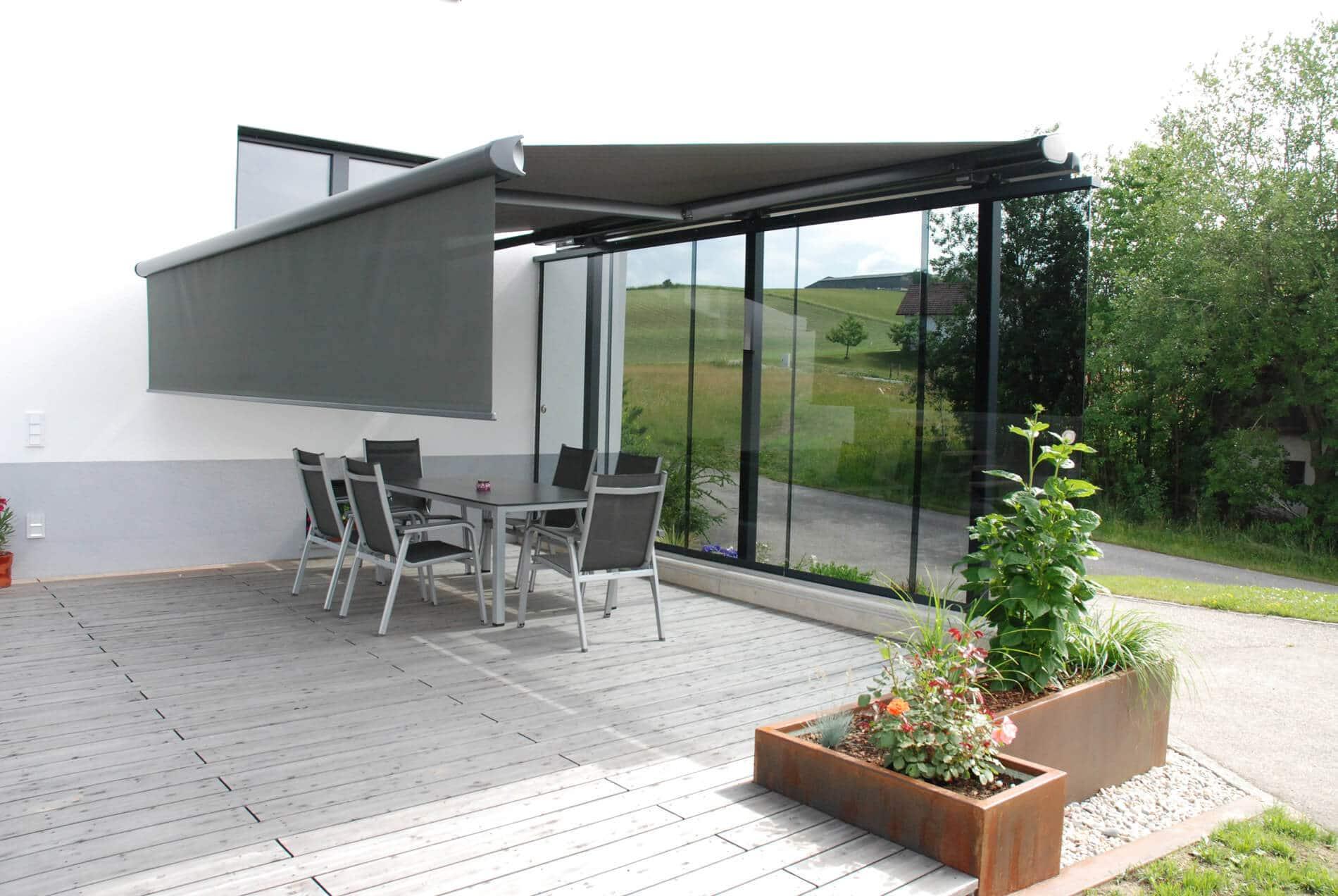 Windschutz Sonnenschutz nach Maß - Oberösterreich
