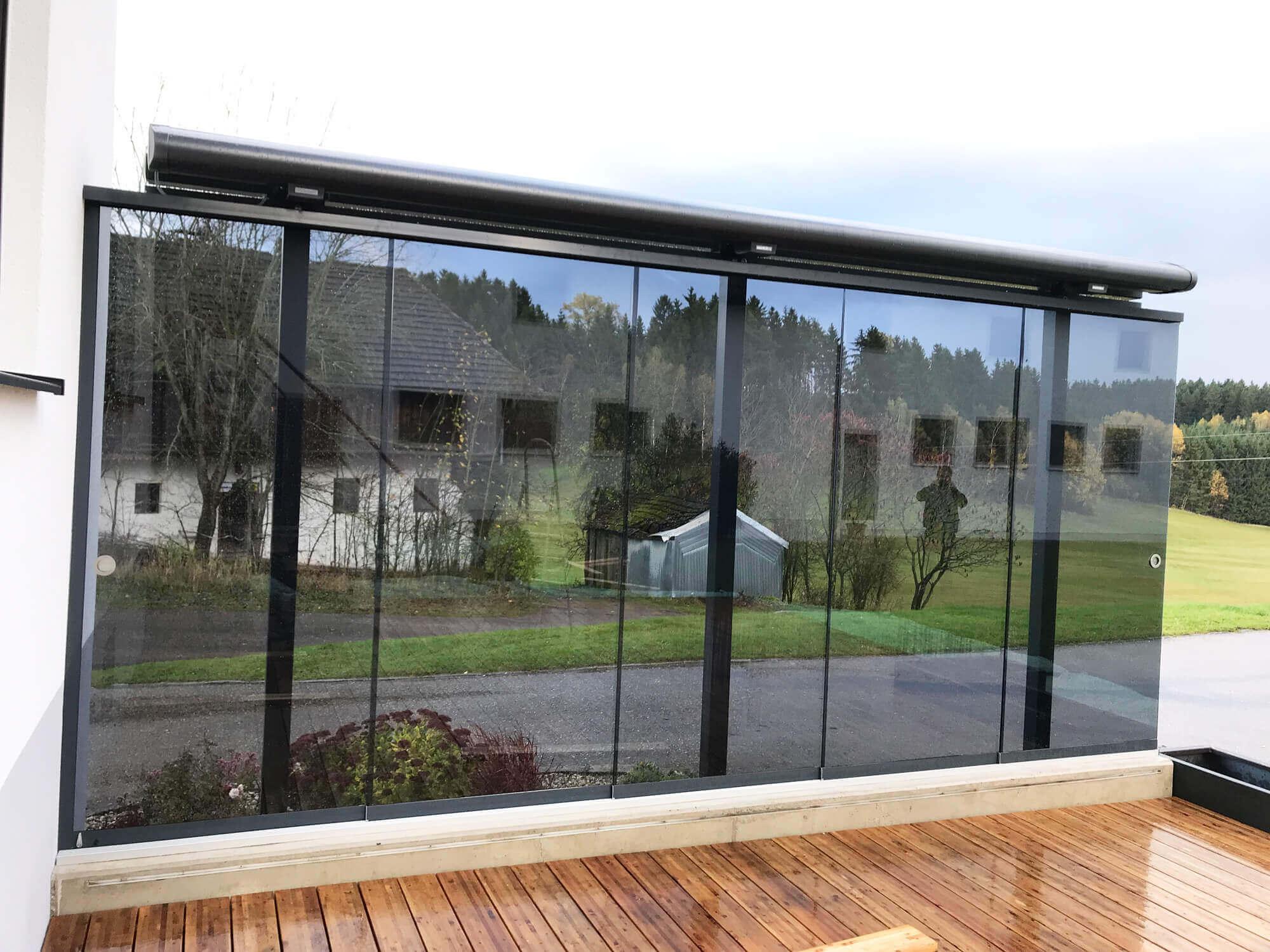 Windschutz Terrasse freistehend
