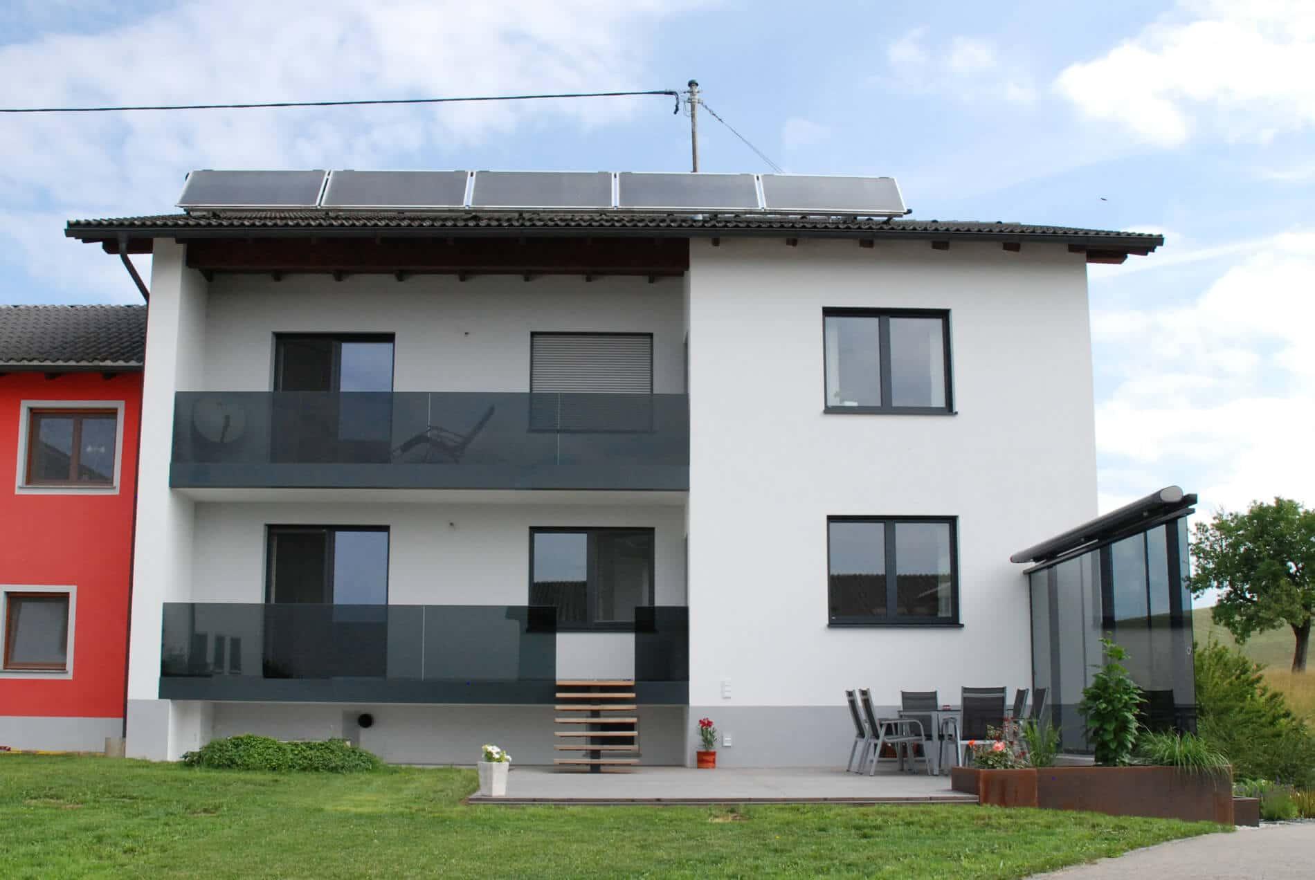 Windschutz Terrasse nach Maß