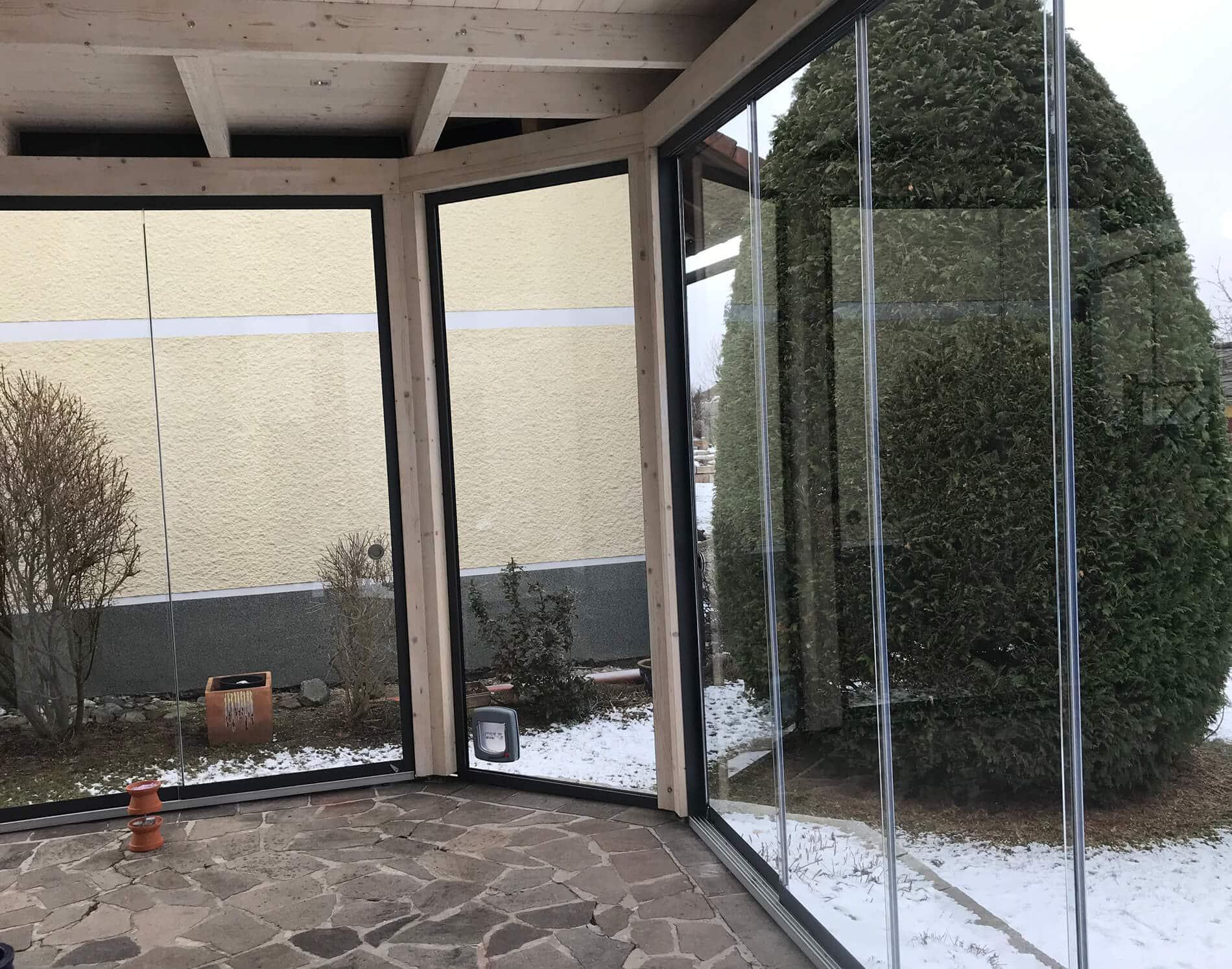Wintergärten aus Holz und Glas