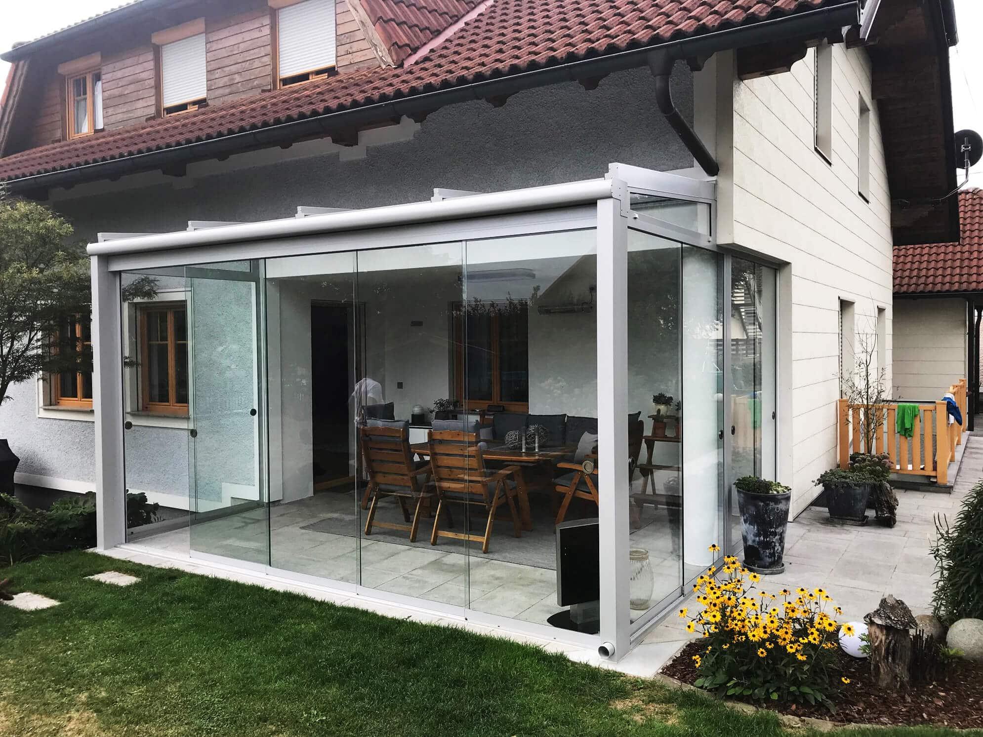 Wintergärten Glasanbauten Schieber