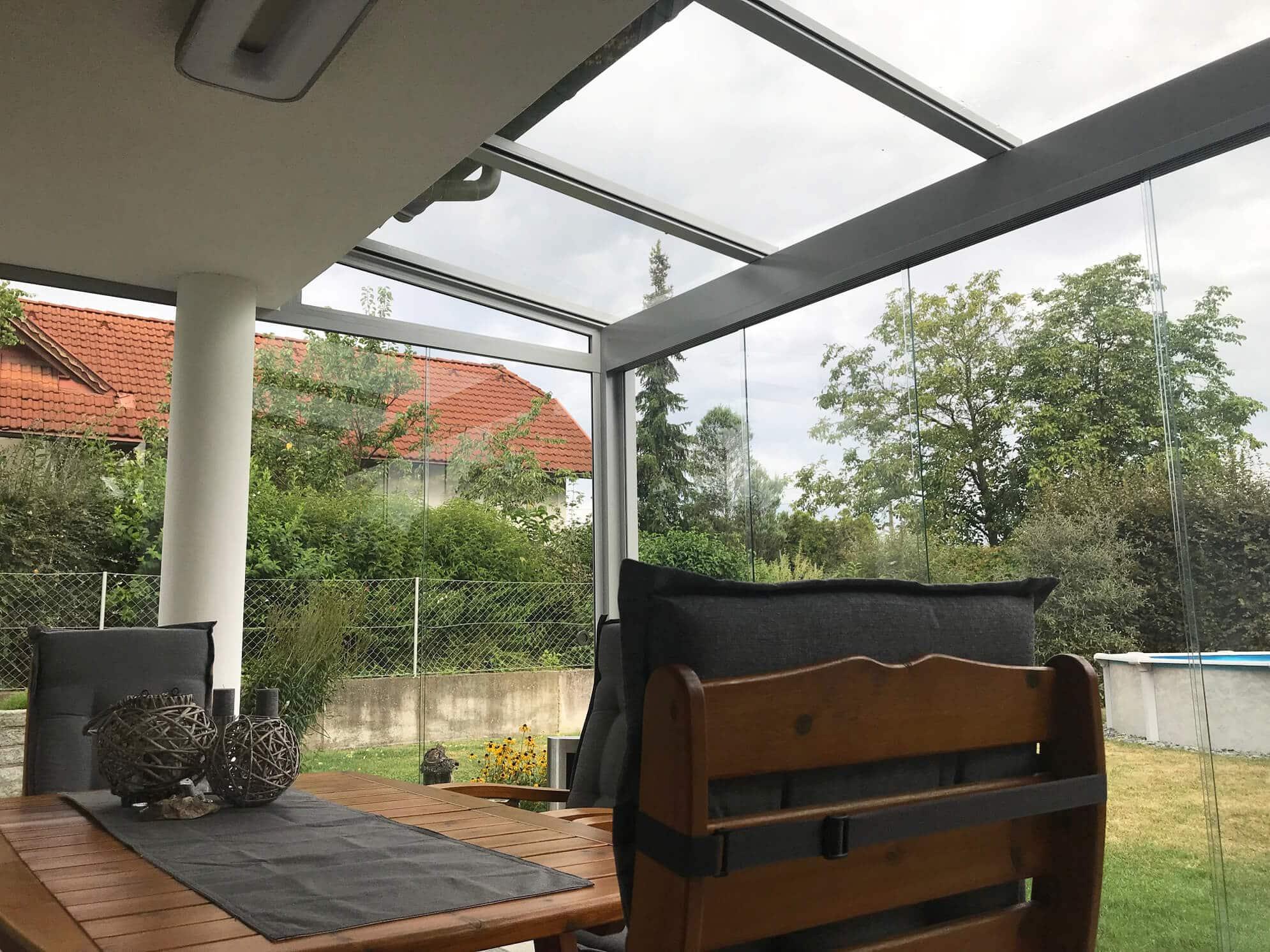 Wintergärten Glasanbauten