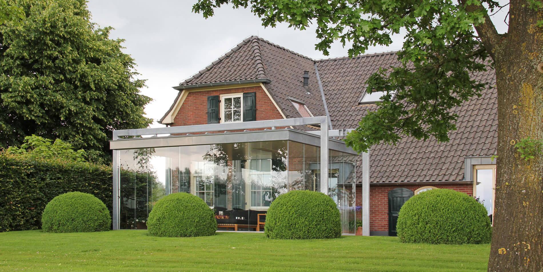 Wintergärten mit Schiebekonstruktion - Referenzen Sunflex