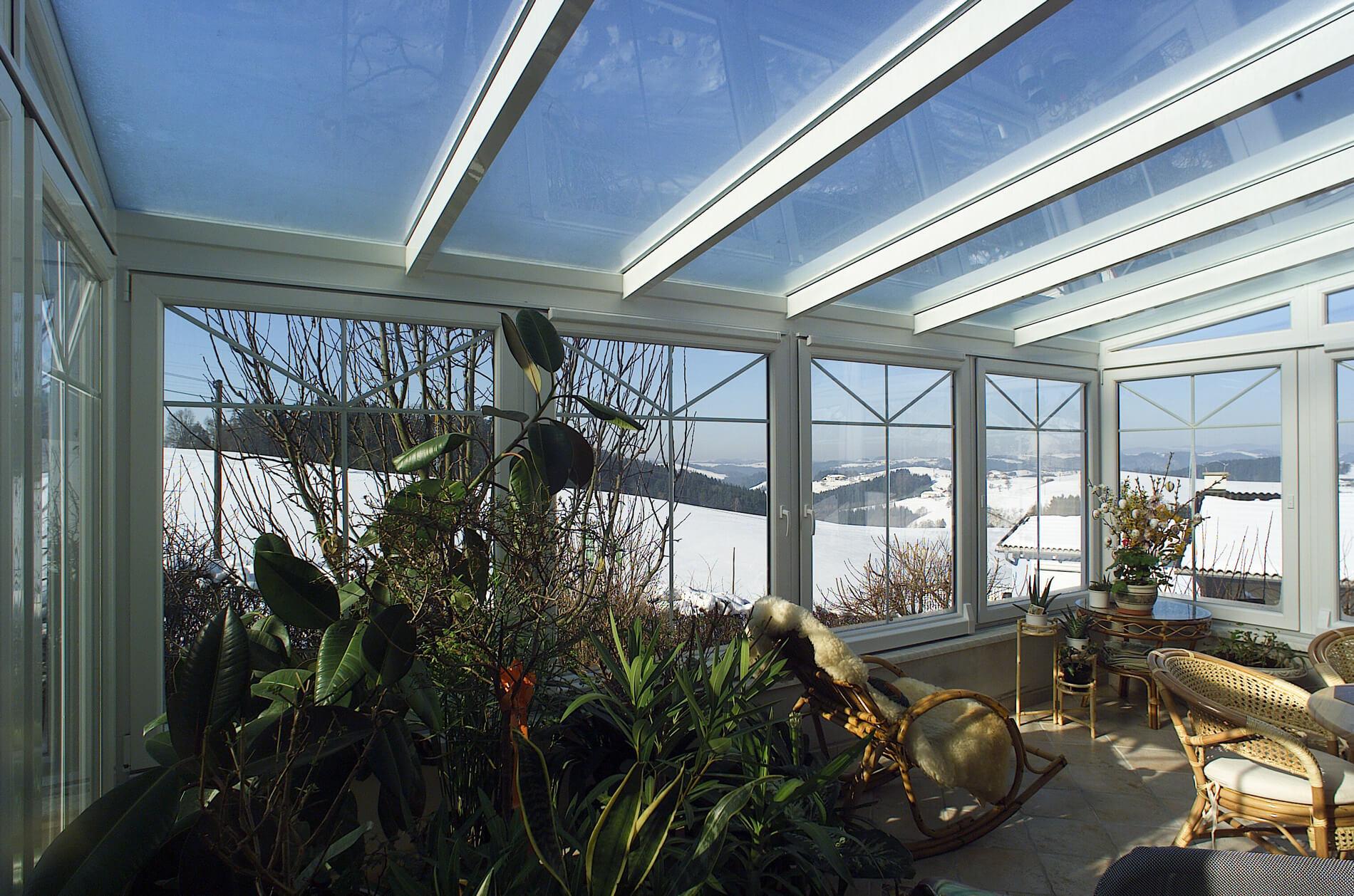Wintergarten als Pflanzenparadies