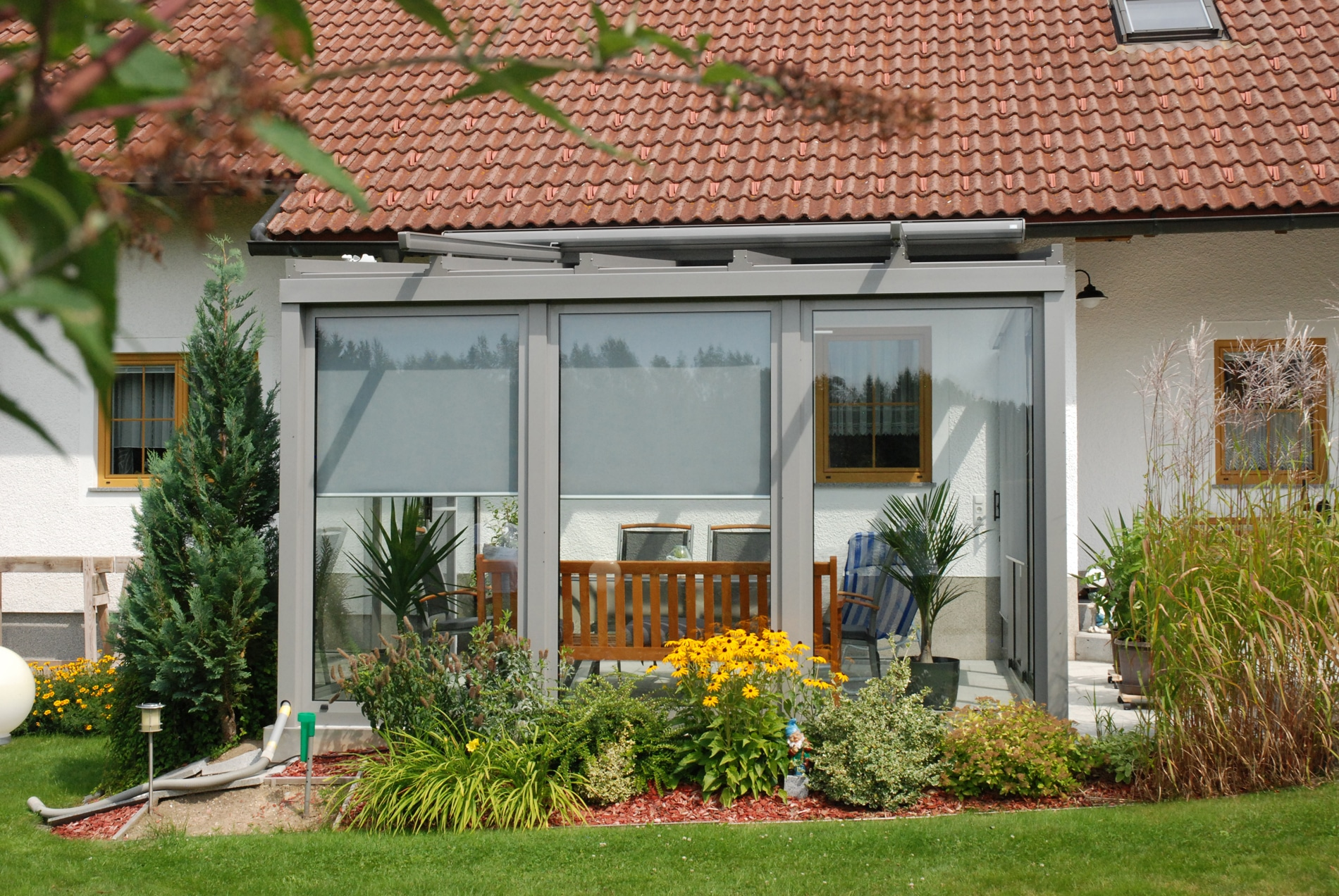 wintergarten als wohnzimmer hilfreiche tipps und bilder. Black Bedroom Furniture Sets. Home Design Ideas