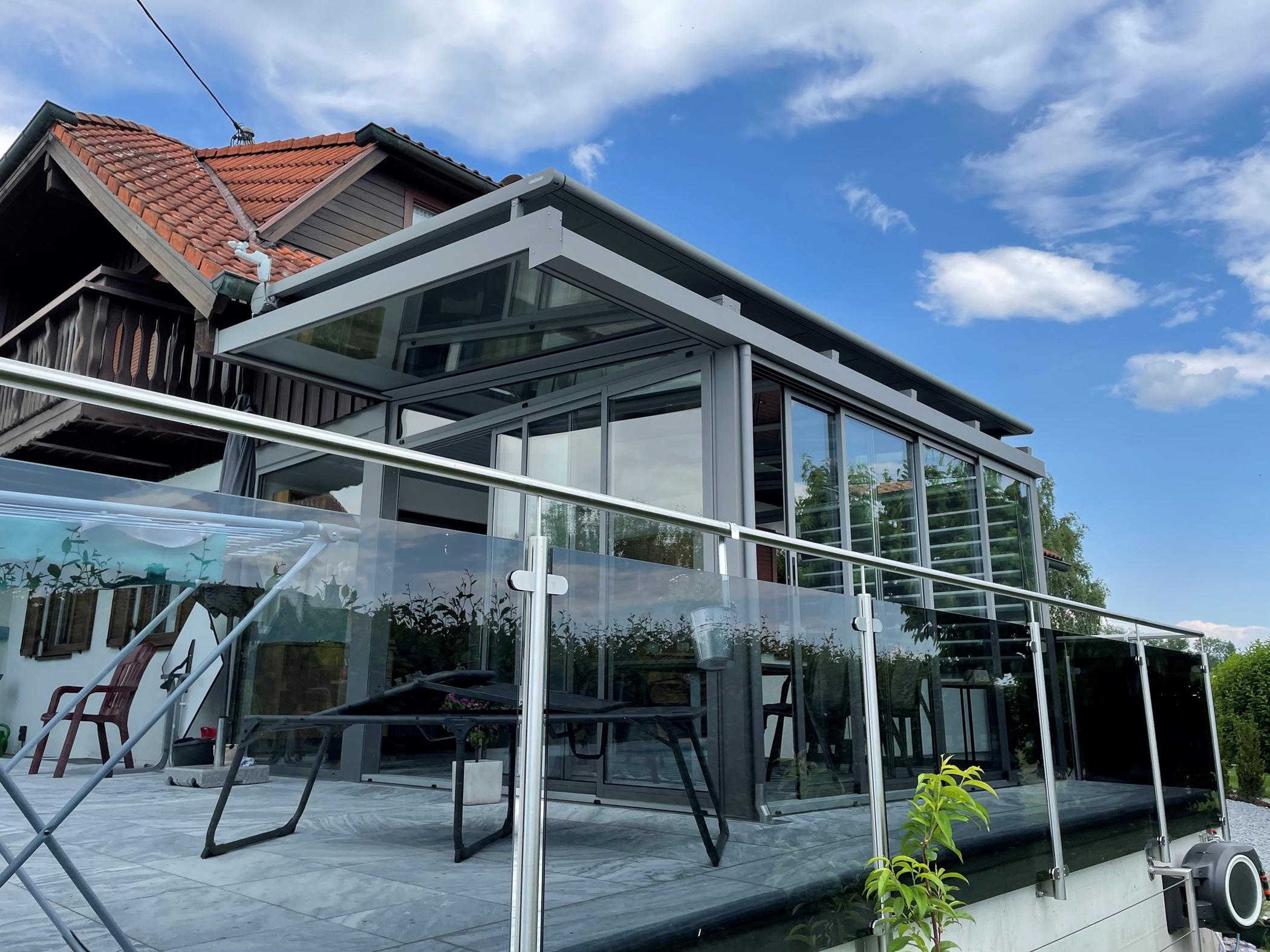 Wintergarten Alu-Glas in Oberösterreich