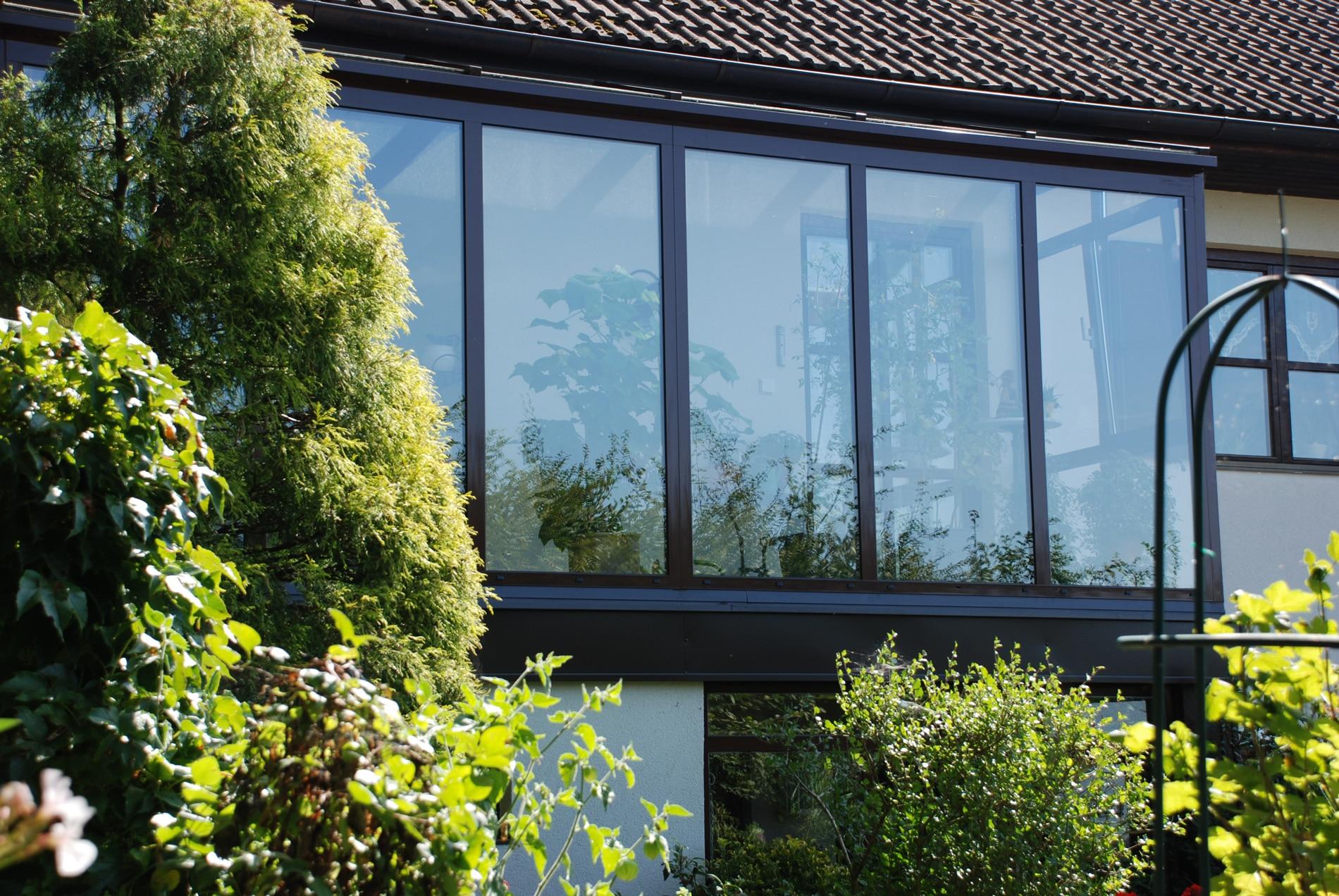 Wintergarten Aluminium Fenster