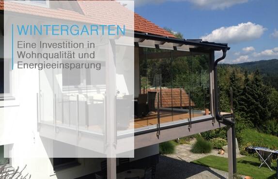 Wintergarten-Anbau