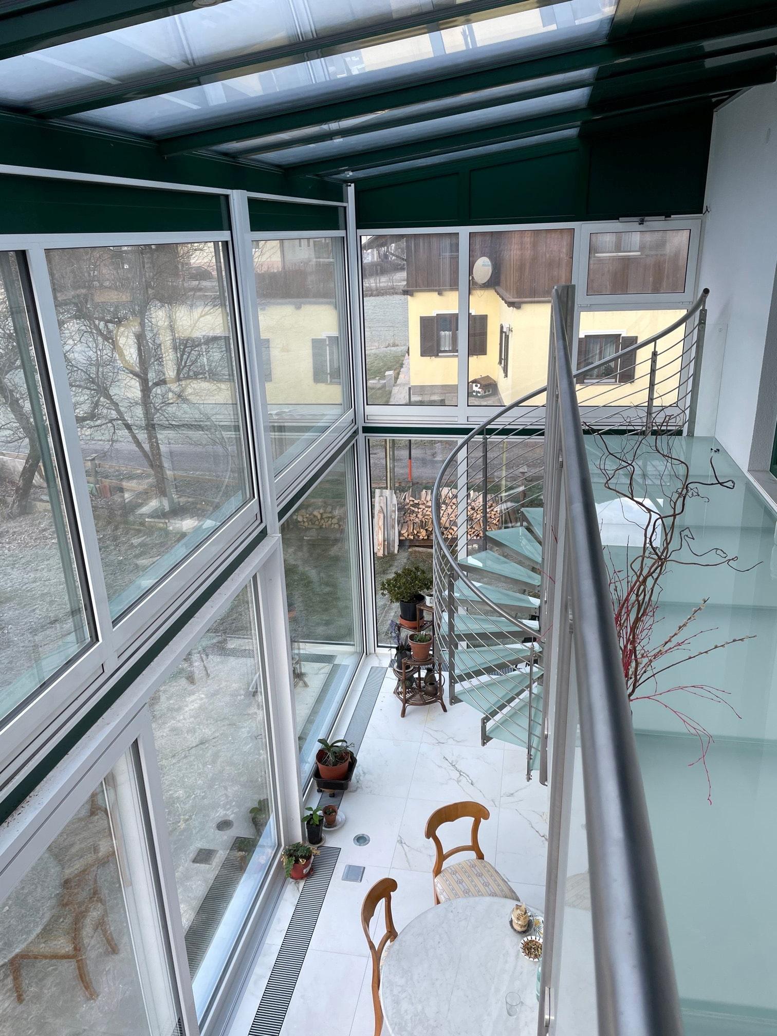 Wintergarten Anbau 2 Stöckig