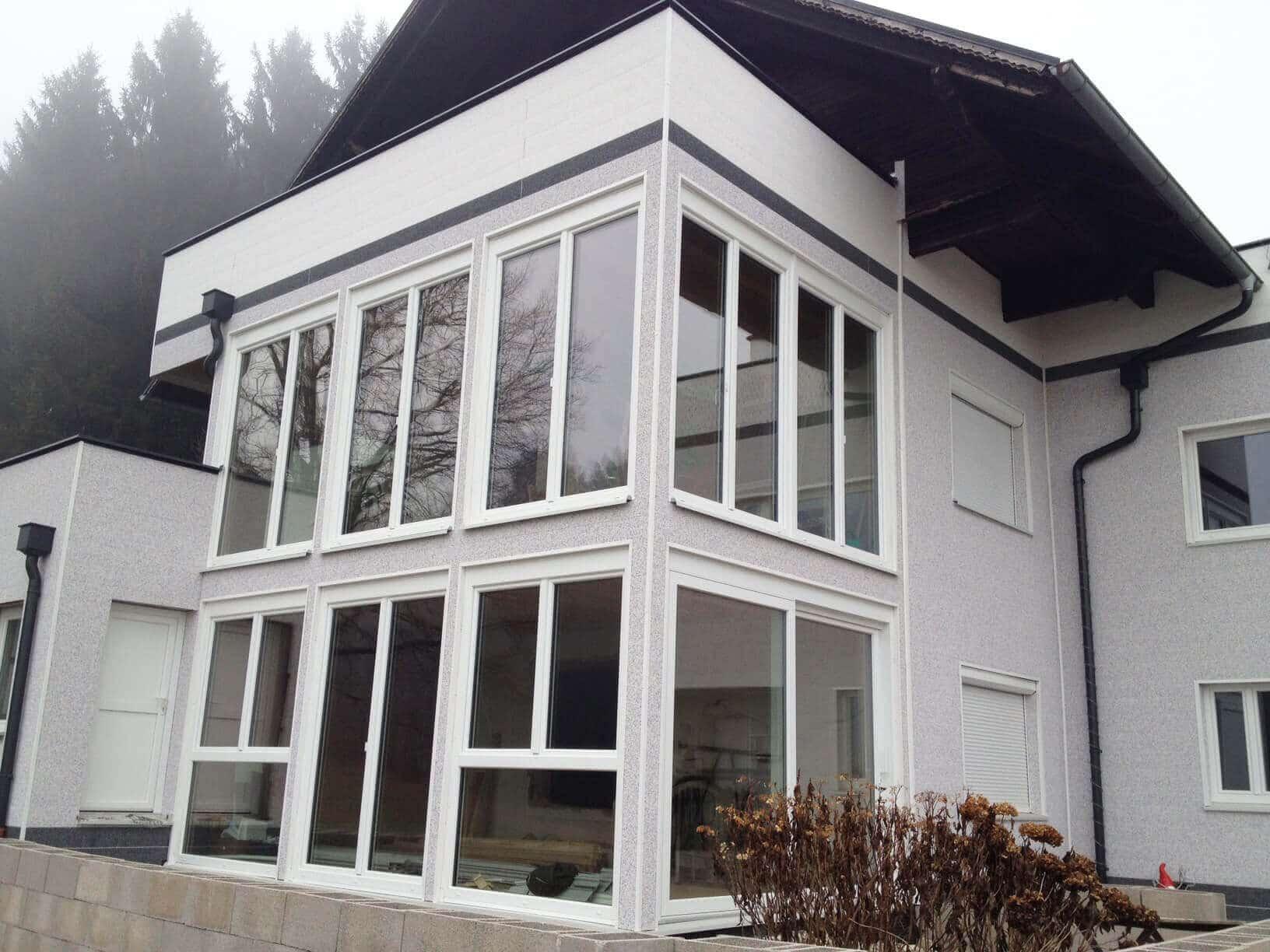 Wintergarten Anbau Mehrfamilienhaus