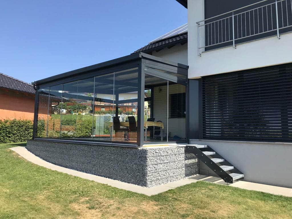 Wintergarten auf Terrasse bauen