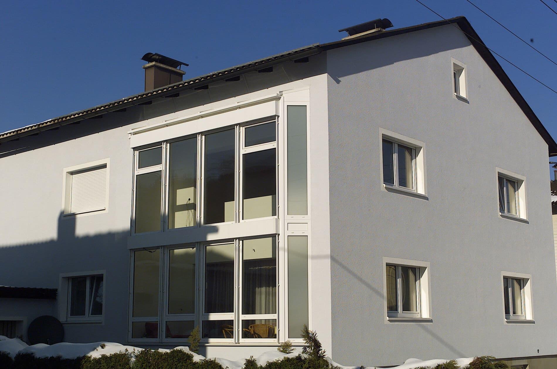 Wintergarten Balkon Anbau für Erd- und Obergeschoss