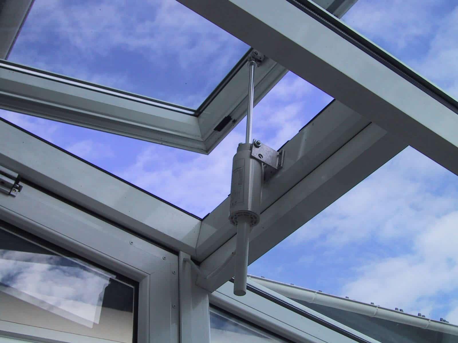 Wintergarten Belüftungssysteme für Dach