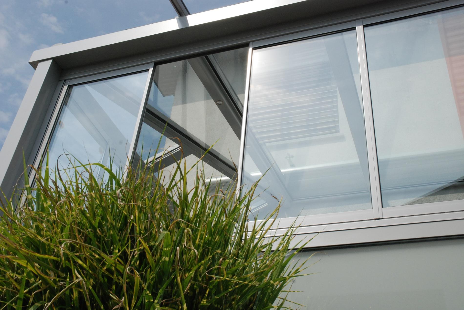 Wintergarten Faltfenster