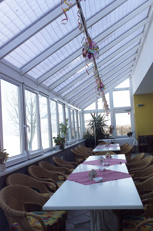Wintergarten für Gaststättenbetrieb