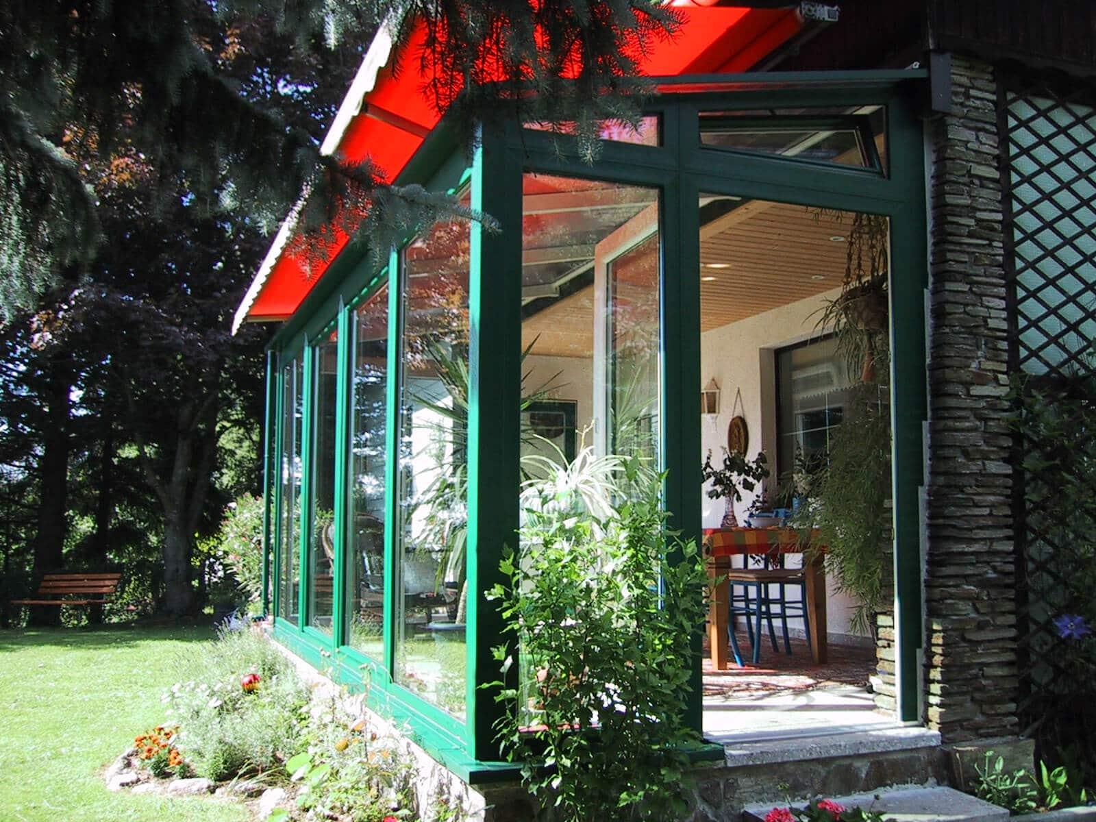 Wintergarten - Grüne Oase aus Glas