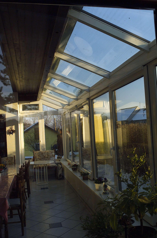 Wintergarten mit Dachverglasung