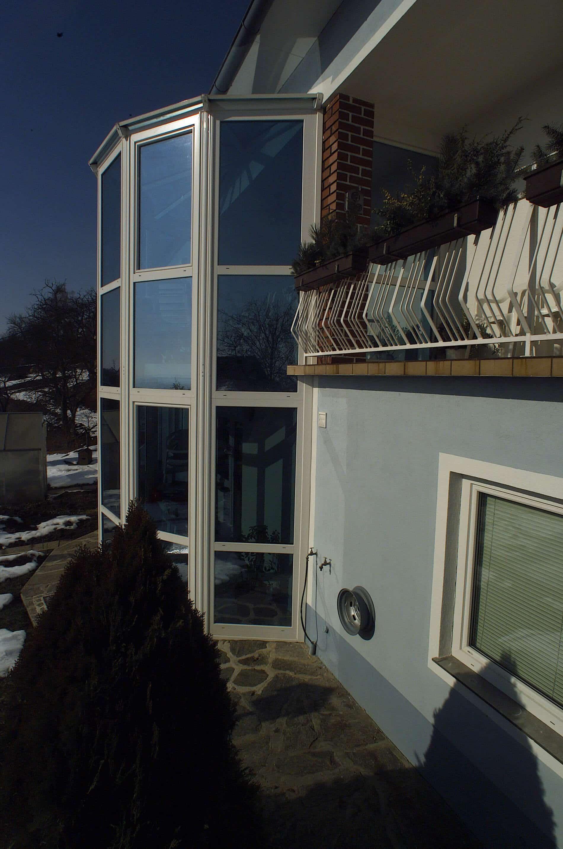 Wintergarten mit Sonnenschutzglas
