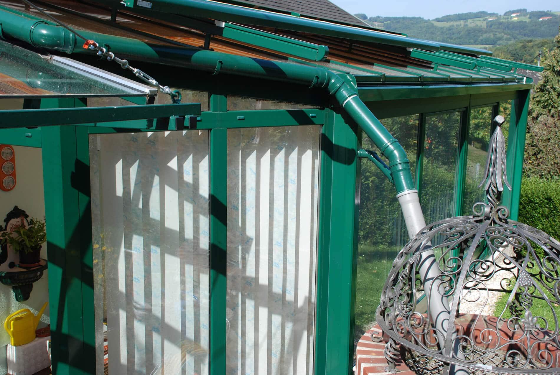 Wintergarten mit Überdachung Glas