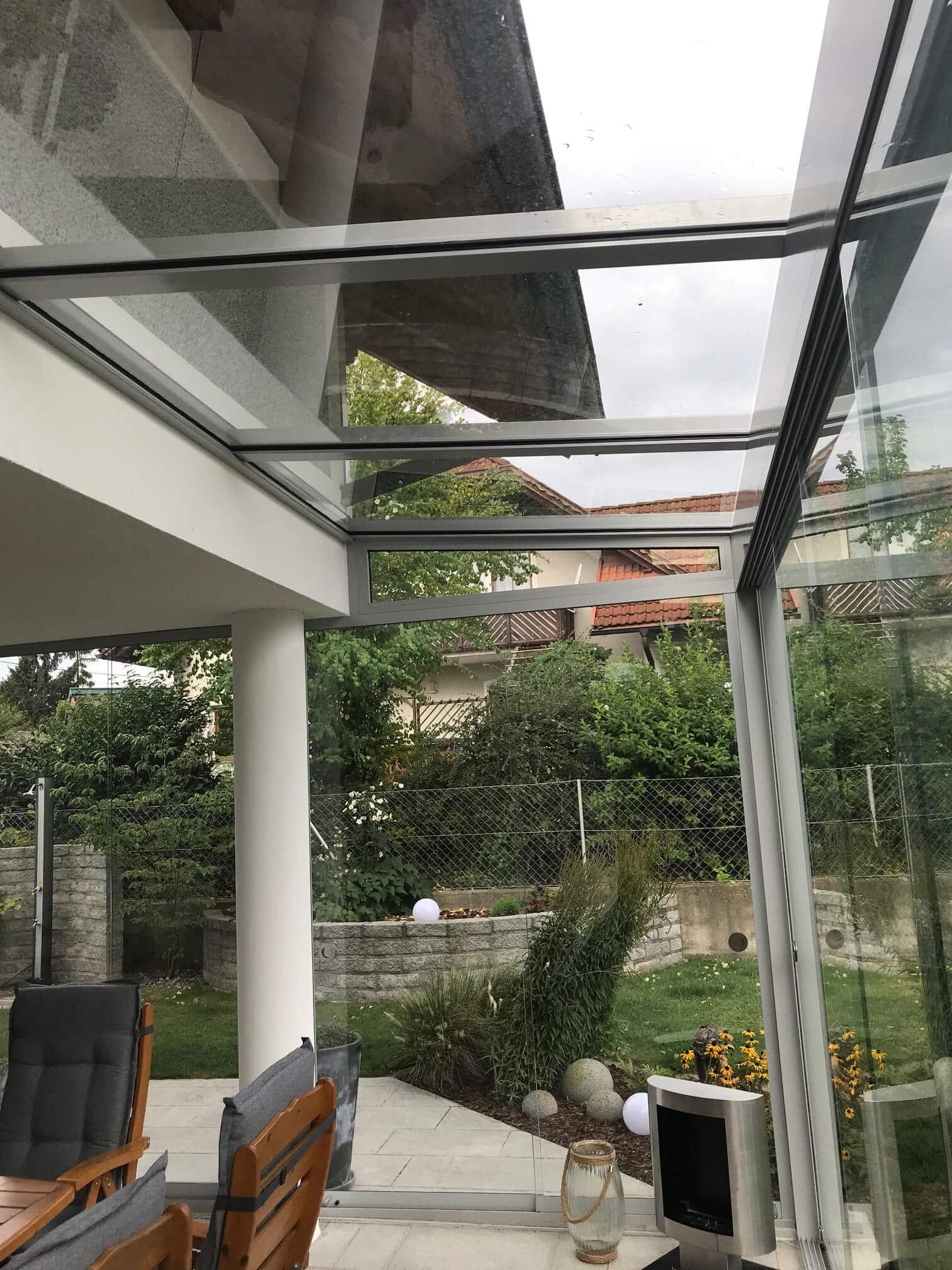 Wintergarten mit viel Glas von Schmidinger