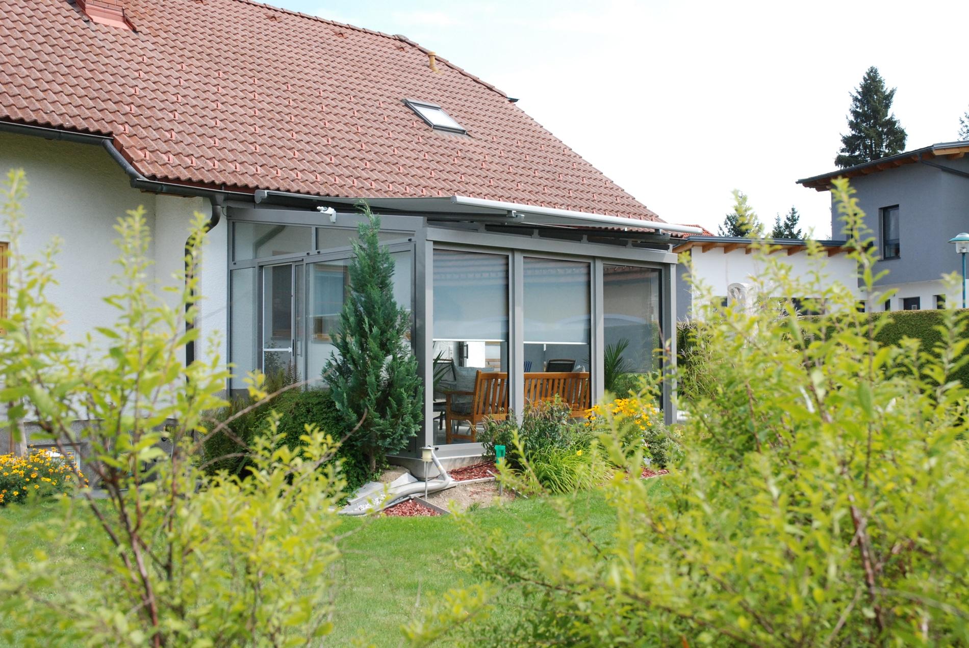 Wintergarten modern Anbau
