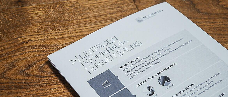 Wintergarten planen Checkliste