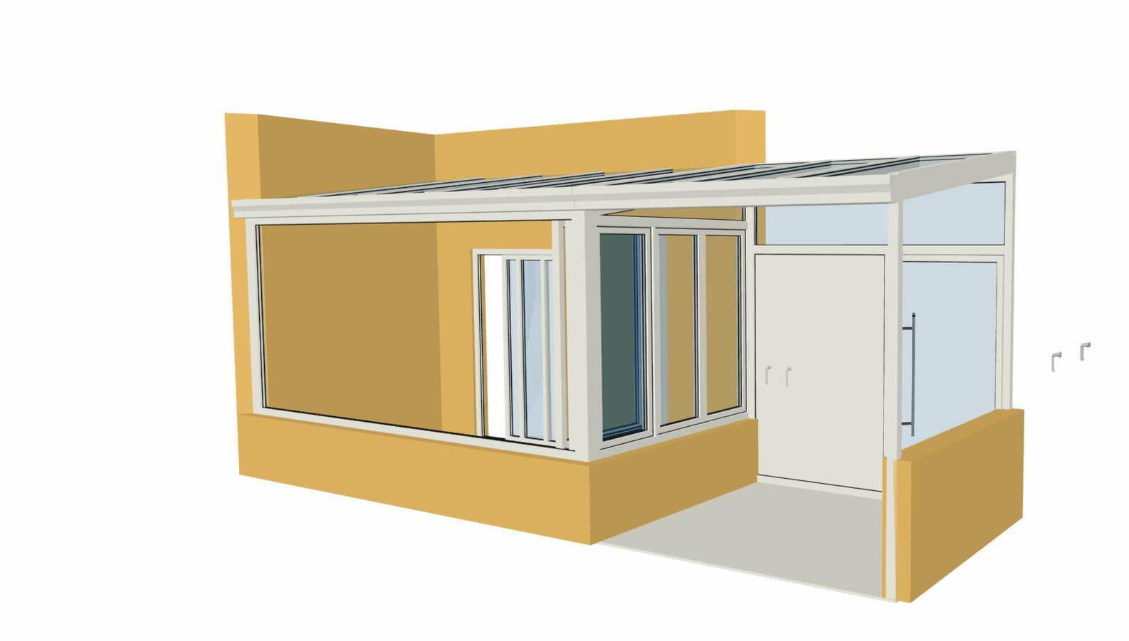 Wintergarten Planung Beispiele/Referenzen