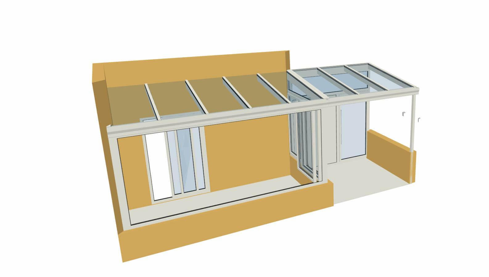 Wintergarten Planung Beispiele