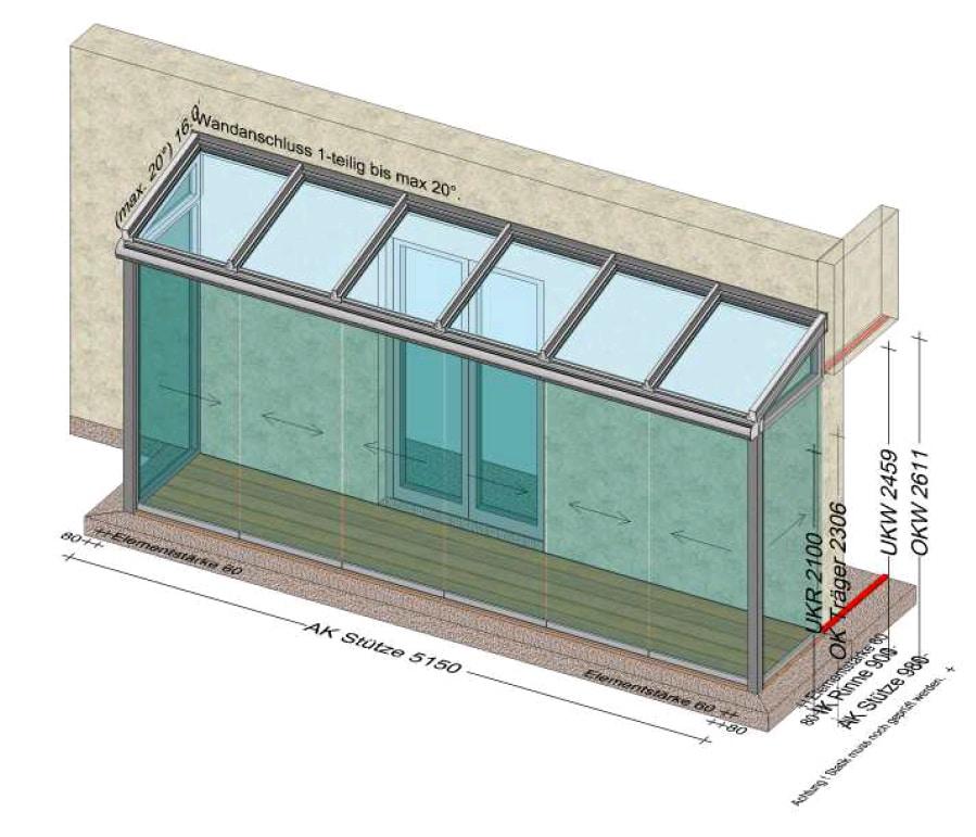 Wintergarten Planung in 4060 Leonding