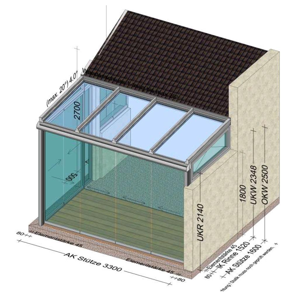 Wintergarten Planung in 4502 St. Marien
