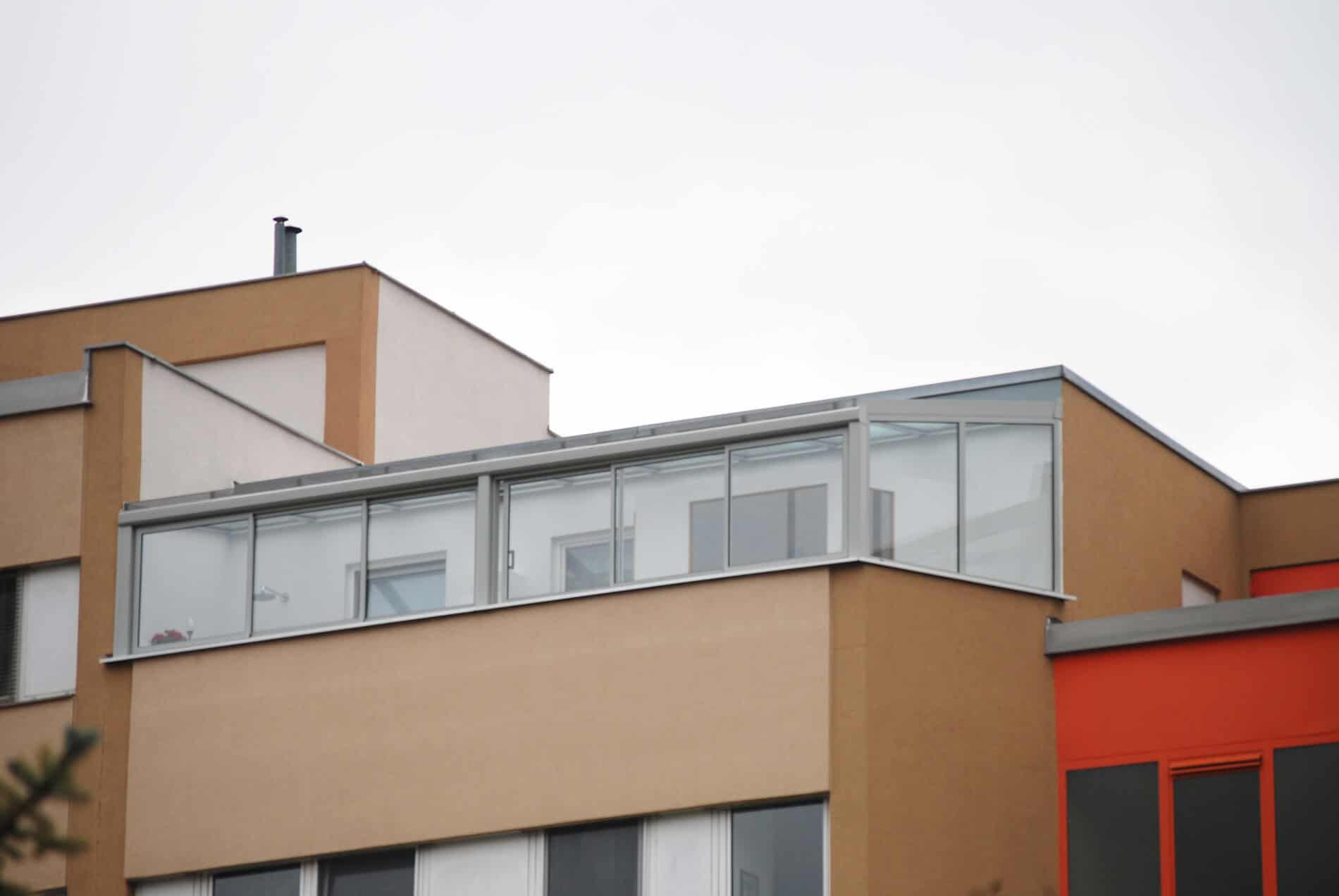 Wintergarten Schiebefenster Aluminium Glas