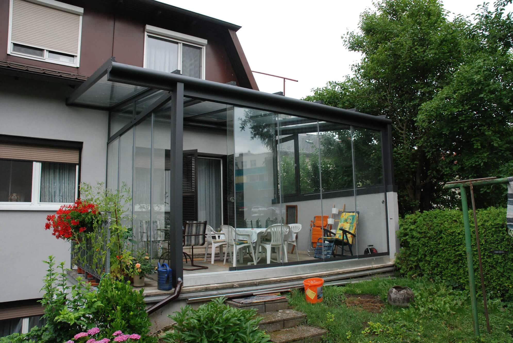 Wintergarten Sommergarten Glas