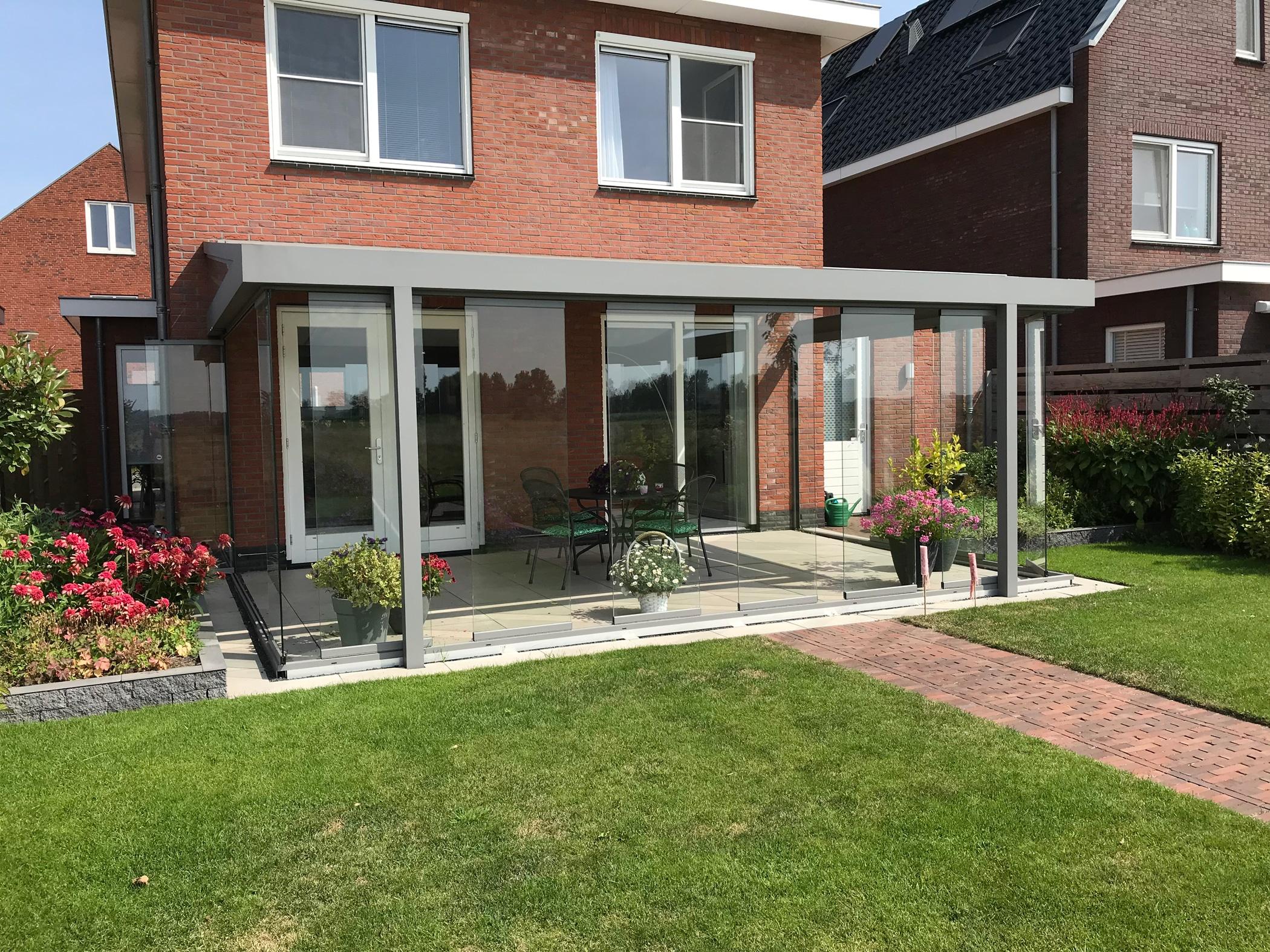 Wintergarten Sunflex Schiebesysteme Glas