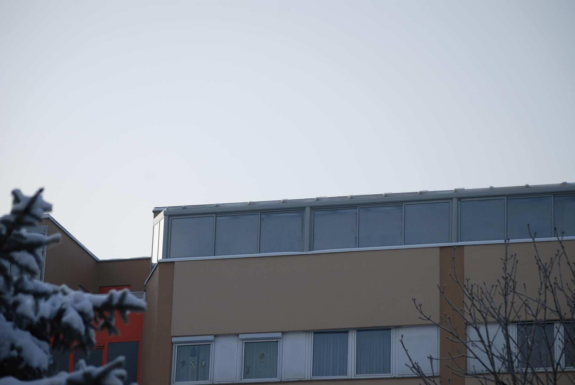 Wintergarten Terrasse Schiebewände