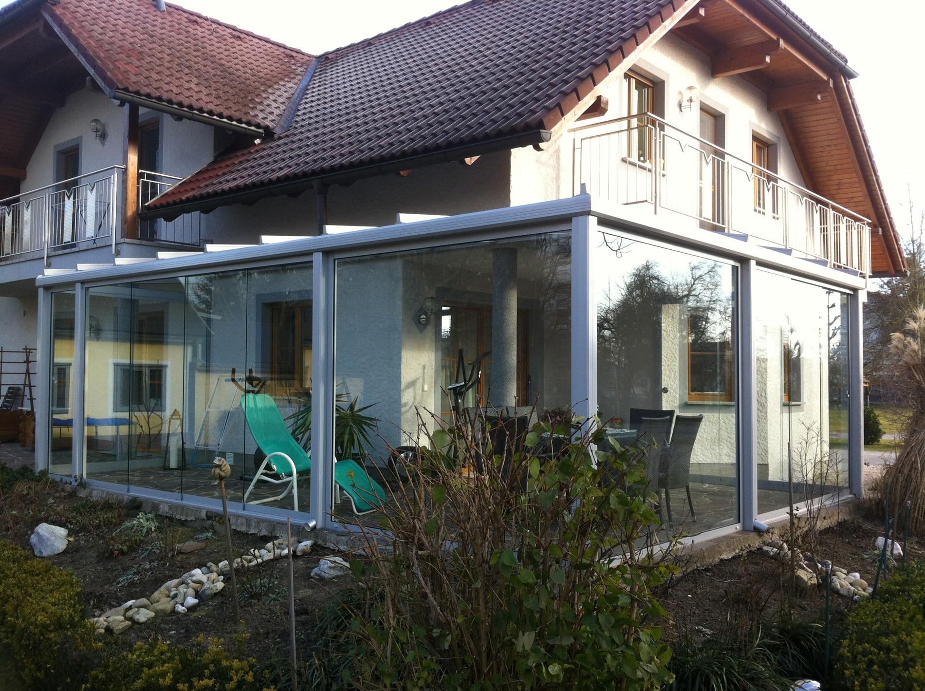 Wintergarten Überdachung Glas