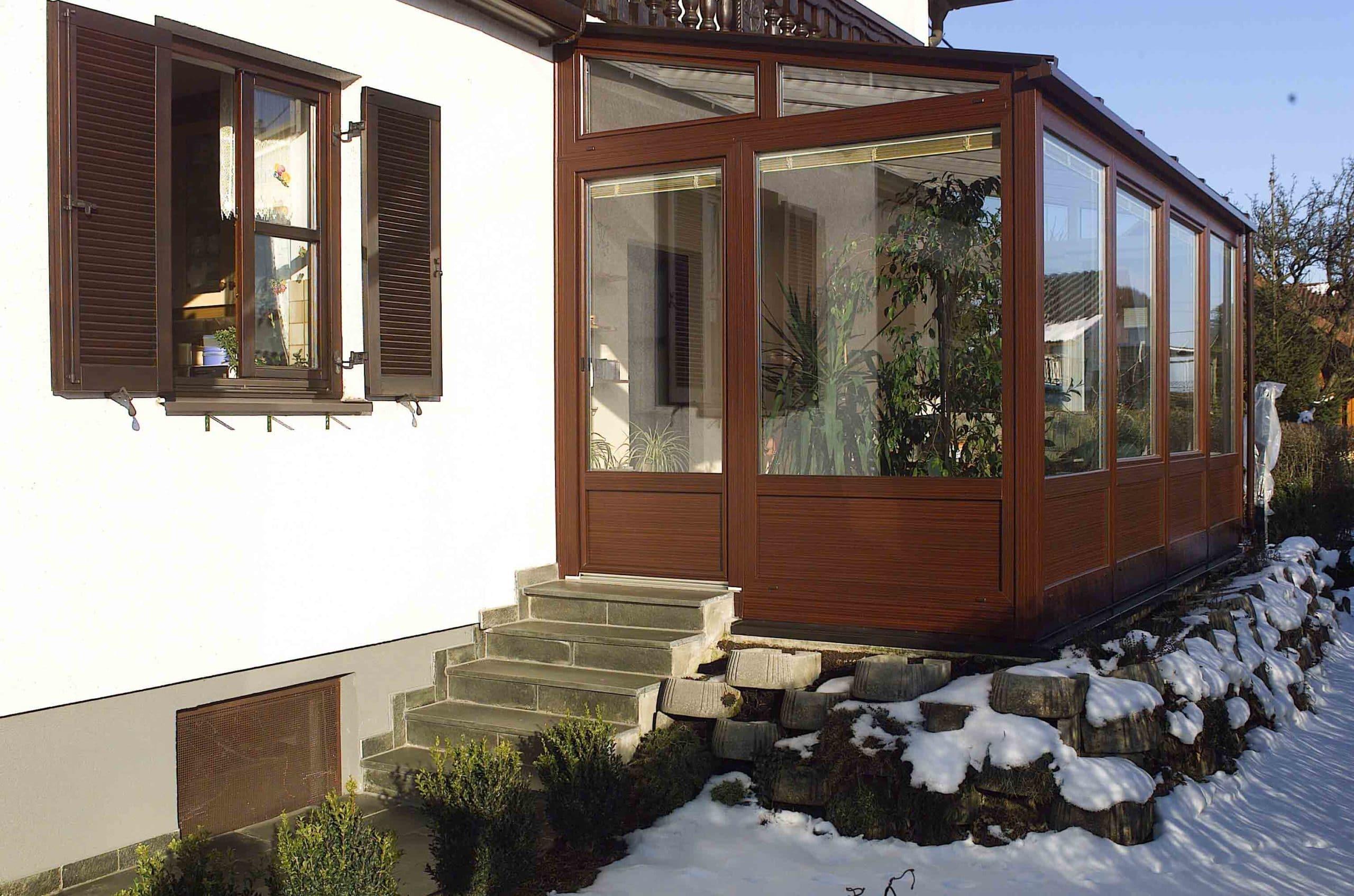 Wintergarten und Wohnraumerweiterung