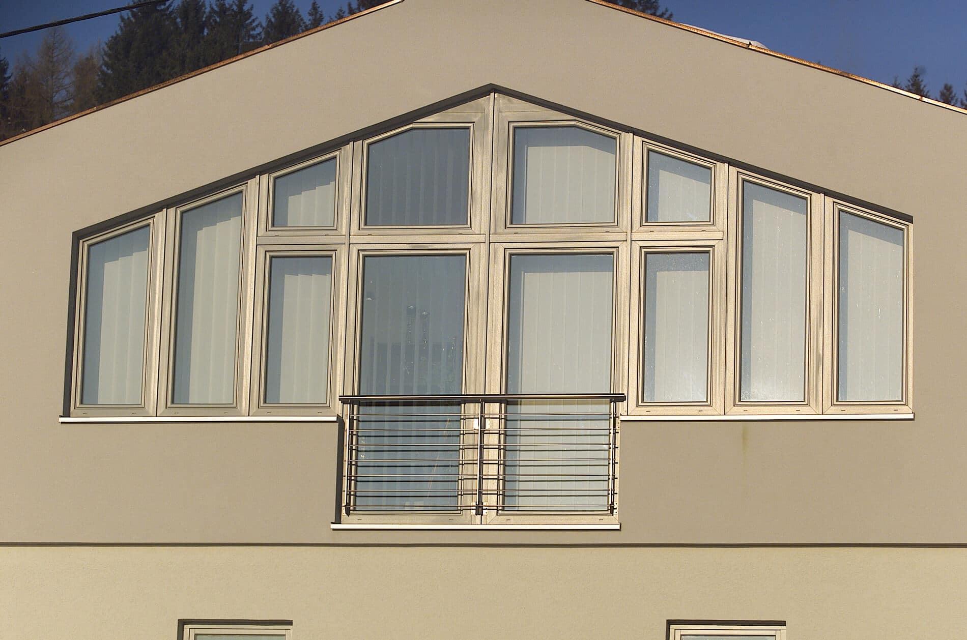 Wintergartenverglasung für Wohnräume