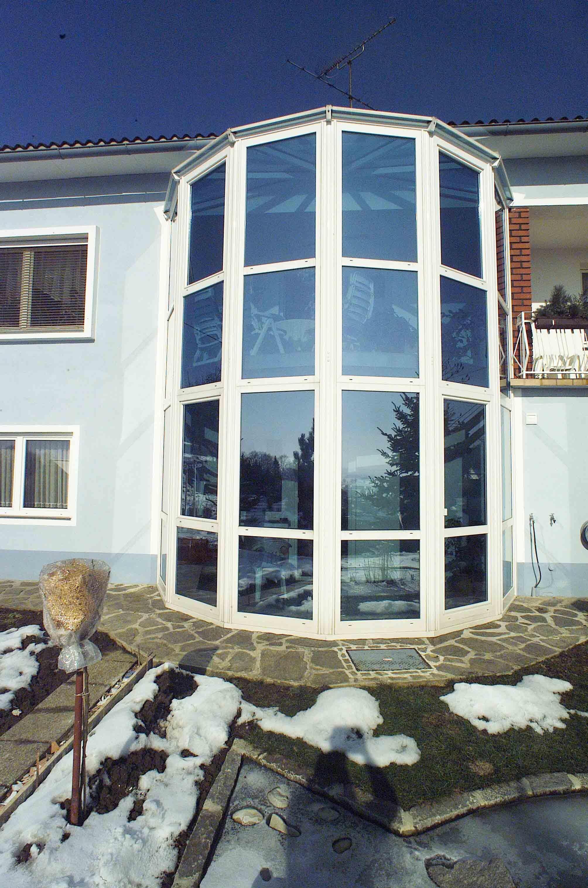 Wohn-Wintergarten mehrgeschossig